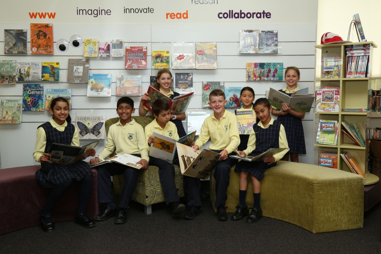Students at Epping Heights Public School.